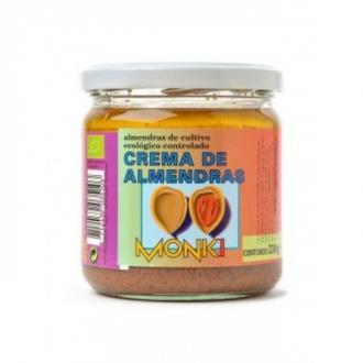 CREMA DE ALMENDRAS tostada  330gr. BIO