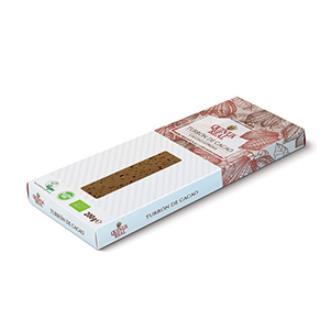 TURRON QUINOA REAL cacao 220gr BIO SG**