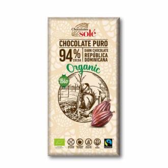 CHOCOLATE NEGRO 94%  100gr.