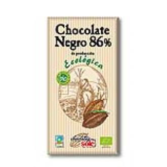 CHOCOLATE NEGRO 86% 100gr.