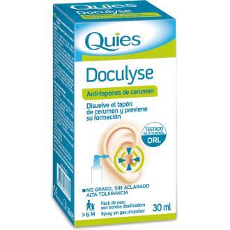 DOCULYSES spray tapones cera 30ml. QUIES