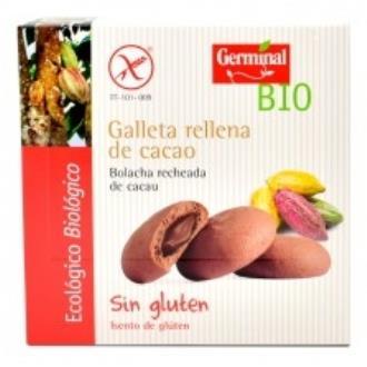 GALLETAS RELLENAS DE CACAO 200gr. BIO SG