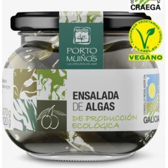 ENSALADA DE ALGAS en aceite de oliva 212gr.BIO VEG