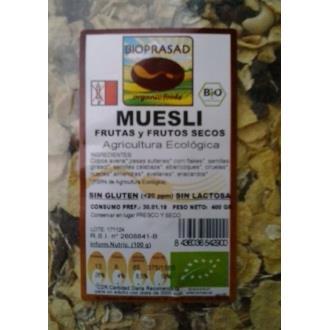 MUESLI  DE AVENA con frutos secos 400gr. BIO SG