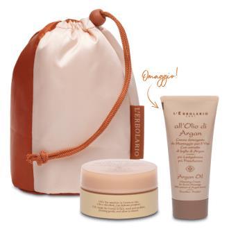 ARGAN BEAUTY crema facial 50ml y detergente 50ml.