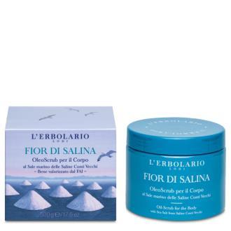 FLOR DE SALINA aceite scrub 500ml.