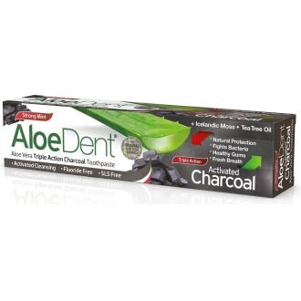 ALOEDENT CARBON ACTIVO dentifrico 100ml.
