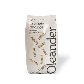 ESPIRAL ANDINO de arroz y quinoa 500gr.