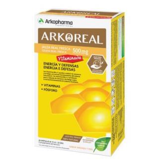ARKOREAL jalea real vitaminada 20amp.