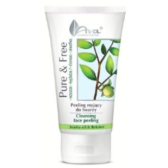 PURE AND FREE peeling facial con aceite jojoba 150