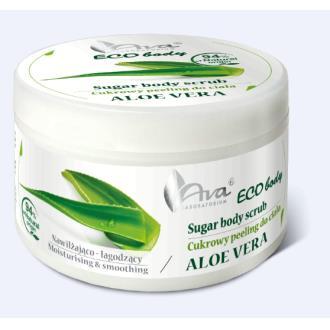 ECO BODY exfoliante corporal azucar y aloe 250gr.