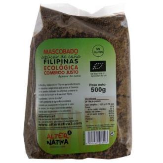 AZUCAR DE CAÑA mascabado  filipines 500gr. ECO