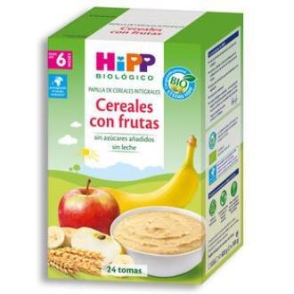 PAPILLA DE CEREALES con frutas 600gr. BIO S/A