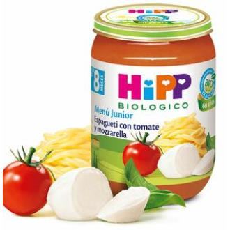 POTITO DE ESPAGUETI con tomate y mozarella 190g BI