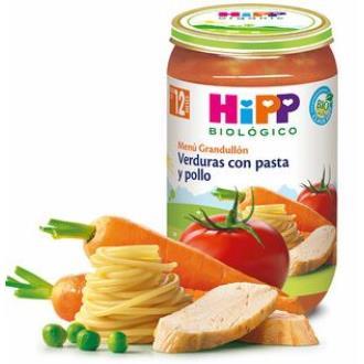 POTITO DE VERDURAS con pasta y pollo 250gr. BIO
