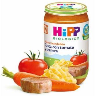 POTITO DE PASTA con tomate y ternera 250gr. BIO