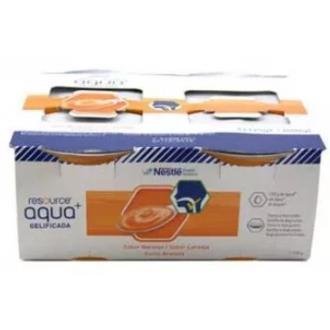 RESOURCE AQUA+ GELIFICADA naranja 4tarrinas