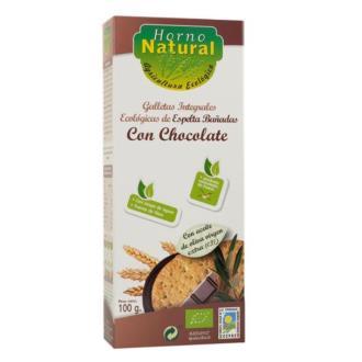GALLETA DE ESPELTA con chocolate 100gr. ECO