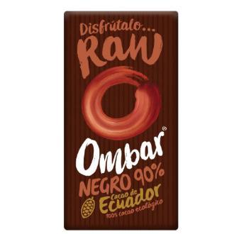CHOCOLATE NEGRO 90 crudo 35gr. BIO VEGAN