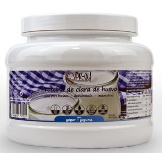 CLARA DE HUEVO  yogur 500gr. SG