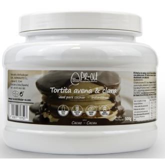 TORTITA CLARA+AVENA cacao 500gr. SG