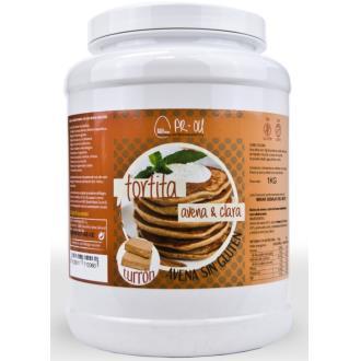 TORTITA CLARA+AVENA turron 1kg. SG