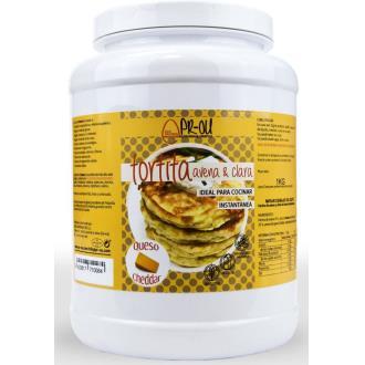 TORTITA CLARA+AVENA queso cheddar 1kg. SG