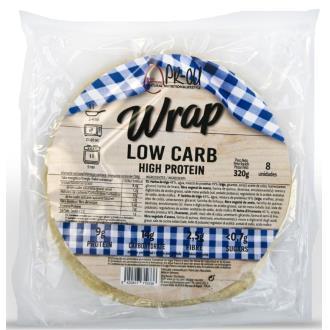 WRAPS tortitas proteicas 8uds.