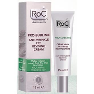 ROC PRO-SUBLIME crema antiarrugas ojos 15ml.