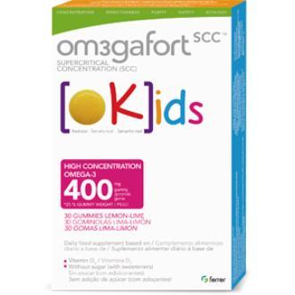 OMEGAFORT OKIDS 30gominolas