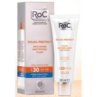 ROC SOL matificante anti-brillo SPF 30 50ml.