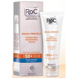 ROC SOL crema nutritiva intensiva SPF 50+ 50ml.