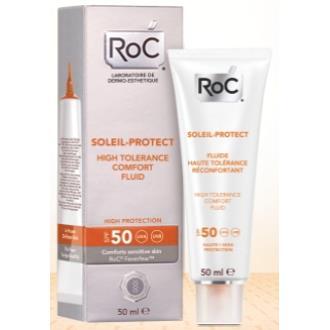 ROC SOL fluido dermocalmante SPF 50 50ml.