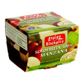 SOLOFRUTA COMPOTA DE MANZANA 2uds. ECO VEGAN