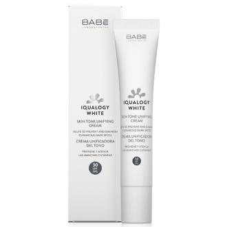 IQUALOGY WHITE crema unific. del tono SPF 30 50ml.