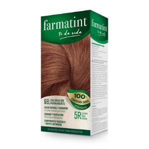 FARMATINT GEL 5R castaño claro cobrizo 135ml.