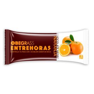 OBEGRAS barr. entrehoras choco negro-naranja 20ud
