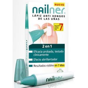 NAILNER lapiz 2 en 1 antihongos 4ml.