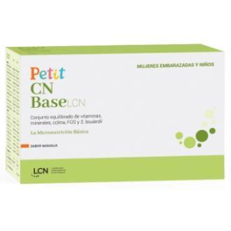 PETIT CN base sabor naranja 30sbrs.