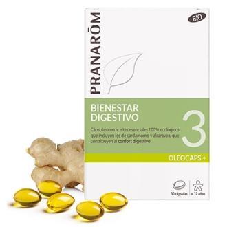OLEOCAPS+ PLUS 3 bienestar digestivo 30cap. BIO