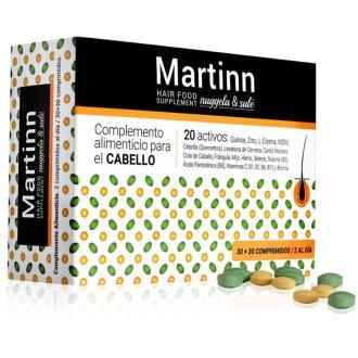 MARTINN hair food 60comp. 30verdes+30naranjas