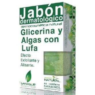 JABON GLICERINA algas y lufa 100gr.