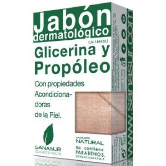 JABON GLICERINA propoleo 100gr.