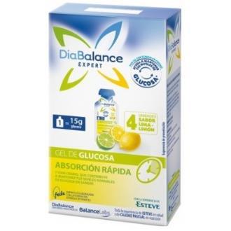 DIABALANCE gel glucosa absorcion rapida limon 4ud.