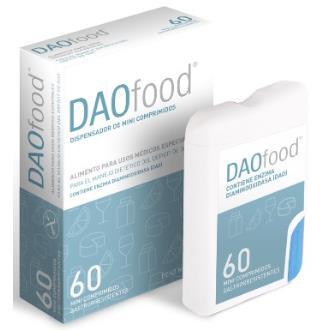 DAO FOOD dispensador 60microcomprimidos
