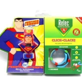 RELEC pulsera antimosquitos superman**