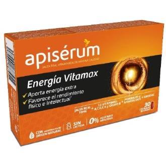 APISERUM energia vitamax 30cap.