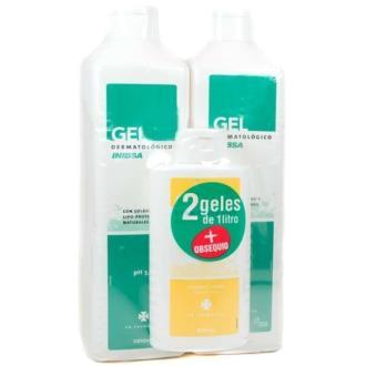 INIBSA PACK 2 geles + champu 200ml.