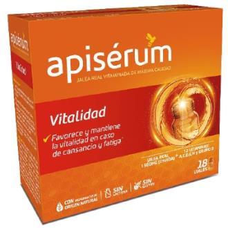 APISERUM vitalidad 18viales