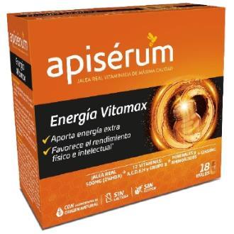 APISETUM energia vitamax 18viales